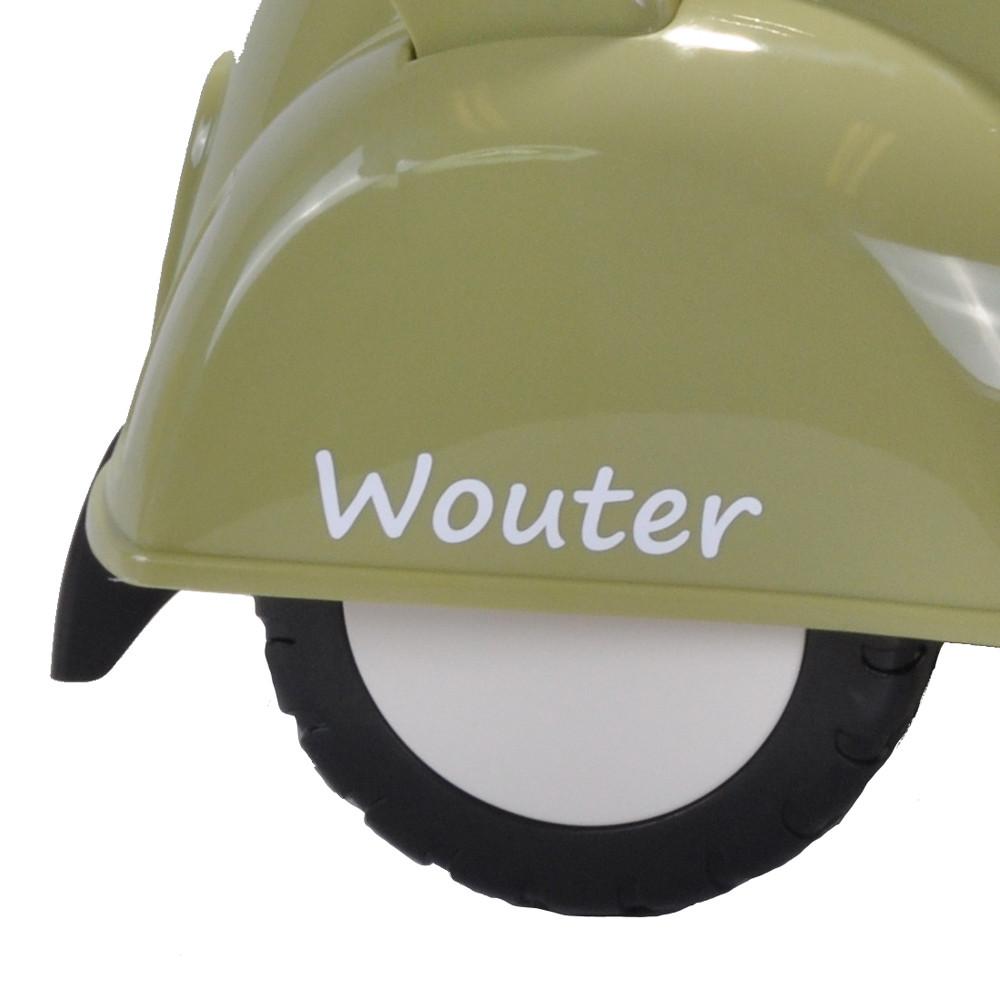 Aufkleberset für den Scooter Retro Grün